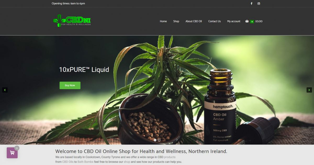 CBD Oil NI For Health and Wellness Online Shop