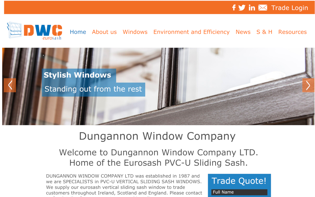 Dungannon Window Company